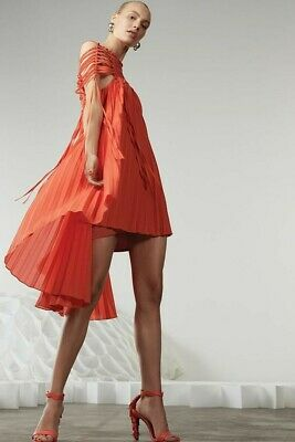 AU289 • Buy Sass And Bide THE TOWERS DRESS RRP $650 Size 40-10