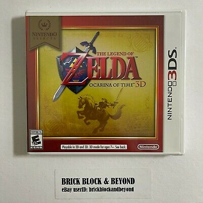 AU40.39 • Buy Nintendo 3DS Selects The Legend Of Zelda Ocarina Of Time 3D New Factory Sealed