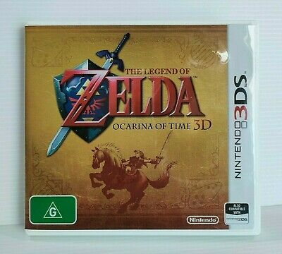 AU39.95 • Buy The Legend Of Zelda Ocarina Of Time 3D - Nintendo 3DS Game - Excellent Condition