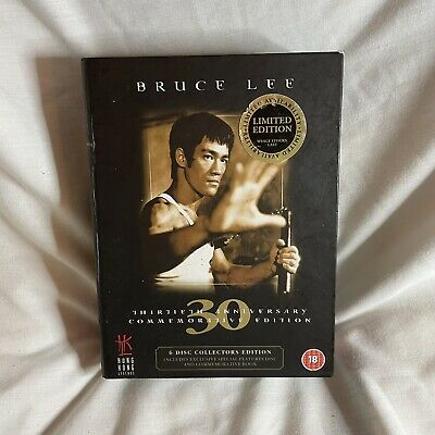£25 • Buy Bruce Lee 6-Disc Set Box Set DVD + Book 2003 30th Anniversary Edition Rated 18