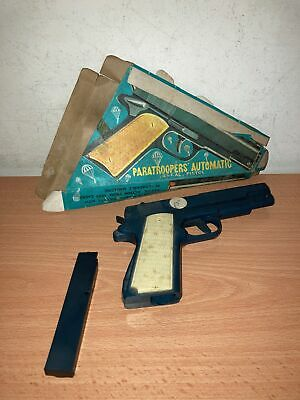 £37.10 • Buy PISTOLA GIOCATTOLO Plastica PARATROOPERS AUTOMATIC Cap Toy Gun Vintage Hong Kong