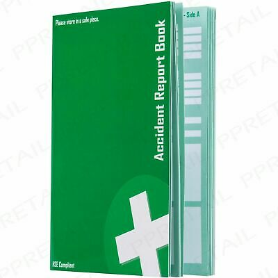 £8.67 • Buy ACCIDENT REPORT BOOK HSE Compliant GDPR Data Protection 1998 RIDDOR 20 Page A5