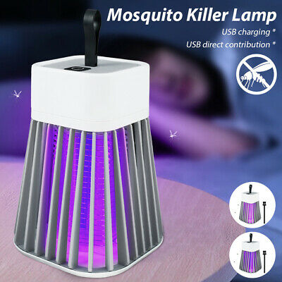 £9.89 • Buy Rechargeable Electric Fly Bug Zapper Mosquito Insect Killer LED Light Trap Lamp#