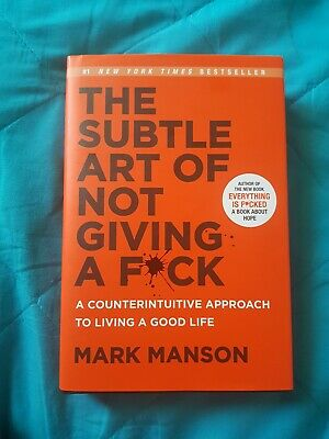 AU18.99 • Buy Book(The Subtle Art Of Not Giving A F#ck)