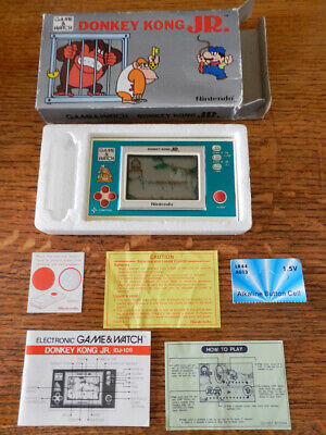 AU144.67 • Buy Nintendo Game & Watch, Donkey Kong JR. DJ-101, 1982, Tested And Fully Working