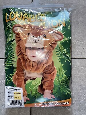 £5.99 • Buy Baby Child Fancy Dress Dress Up Lion Outfit 12-18 Months