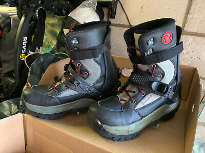 £100 • Buy Rossignol SIS Snowboard Boots And Step In Bindings UK Size 11