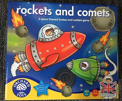 £3 • Buy Rockets And Comets Board Game Orchard Toys Excellent Condition