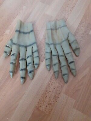 £2 • Buy Skeleton Layex HANDS GLOVES. HALLOWEEN. Dress Up. Scary