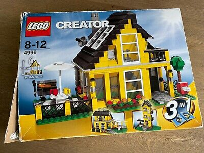 £21 • Buy LEGO Creator BEACH HOUSE 3-in-1, 4996, Complete Set In Box With Instructions