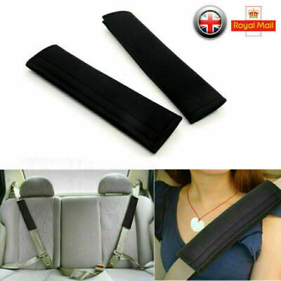 £0.99 • Buy 2X Kids Car Seat Belt Pads Harness Safety Shoulder Strap Cushion Cover Protector