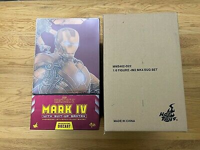 £450 • Buy Hot Toys MMS462D22 Iron Man 2 Mark 4 IV With Suit-Up Gantry 1/6 Diecast MINT