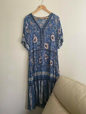 AU170 • Buy Spell & The Gypsy Collective Zahara Maxi Dress (Size M) **RARE FIND**
