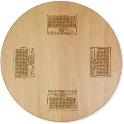 £24.99 • Buy 'Wooden Chest' Lazy Susan Rotating Turntable (LA00000277)