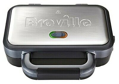 £24.99 • Buy Breville Deep Fill Sandwich Toaster And Toastie Maker With Removable Plates