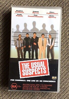 AU4 • Buy The Usual Suspects Vhs Video Tape Kevin Spacey Gabriel Byrne Bryan Singer