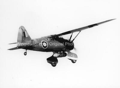 £6 • Buy Westland Lysander - Original Aviation Photo-moyes & Bowyer Collections
