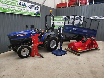 £7995 • Buy New 2021 Farmtrac Ft22 4wd Compact Small Tractor