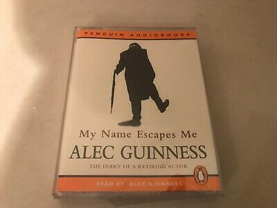 £5.99 • Buy My Name Escapes Me The Diary Of A Retiring Actor By Alec Guinness Audio Book