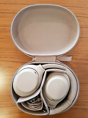 AU176.50 • Buy Sony WH1000XM4 Noise Cancelling Headphones Silver (Used)