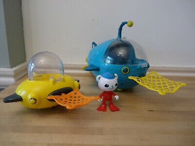 £19.99 • Buy Octonauts Bundle Gup A And Gup D With Nets And Barnacles BATH TOYS