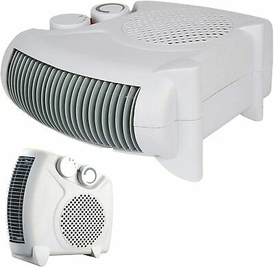 £13.79 • Buy Electric Fan Heater 2KW 2000 W Portable SILENT Floor Or Upright Hot & Cold Air