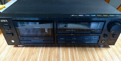 £53.99 • Buy Aiwa AD-F410 Stereo Cassette Deck With Dolby B/C & HX-Pro Noise Reduction HI Fi