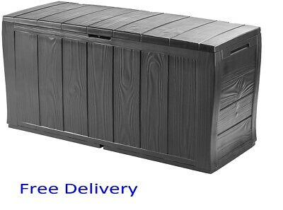 £44 • Buy Keter Xl Large Storage Shed Garden Outside Box Bin Tool Store Lockable