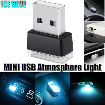 AU10.78 • Buy For Mini USB LED Interior Light Neon Atmosphere Ambient Lamp Bulb Accessories 1x