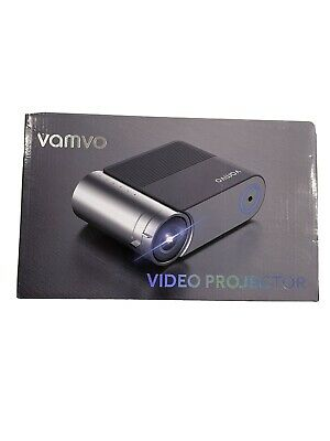 AU139.09 • Buy Projector, Vamvo LD4200 Mini Projector 1080p Full HD Support, 5500 Lux