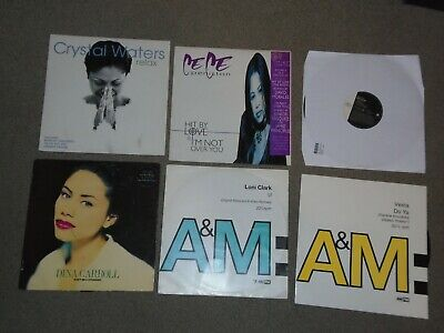£8.99 • Buy 6 X 12   A&M  Records Vinyl Collection      90's / HOUSE / OLD SKOOL!!!