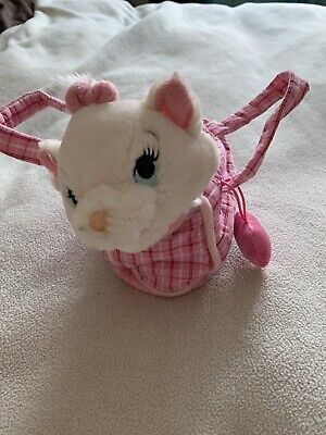 £5.50 • Buy Disneyland Paris Marie From Aristocats Plush Soft Toy In Carry Bag-childs Toy