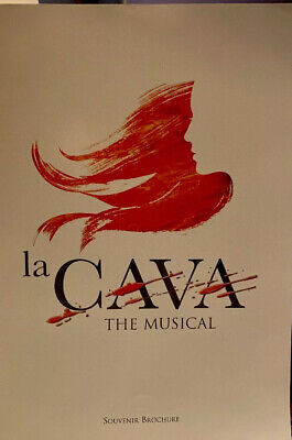 £19.95 • Buy La Cava The Musical Theatre Programme Features Young Luke Evans - Oliver Tobias