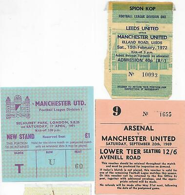 £4.99 • Buy Ticket Crystal Palace V Manchester United 19/4/1971