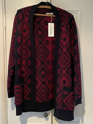 £22 • Buy Woolovers All Over Aztec Edge To Edge Cardigan (new)