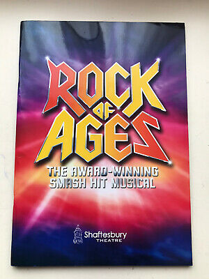 £7.75 • Buy ROCK OF AGES  The Musical LARGE Theatre Programme / Brochure Oliver Tompsett