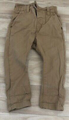£6 • Buy Baby Boys Sand Coloured Next Chinos Size 9-12 Months