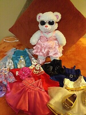 £13.37 • Buy Build A Bear Bundle ,princess Bear With Outfits And Shoes