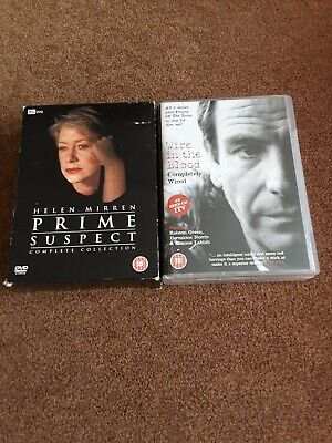 £13.79 • Buy Prime Suspect (Helen Mirren) & Wire In The Blood Complete 24 Disc/dvd Boxsets.