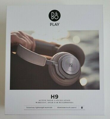 £10.50 • Buy B&O BEO PLAY H9 - Active Noise Cancelling Wireless Over-Ear Bluetooth Headphones