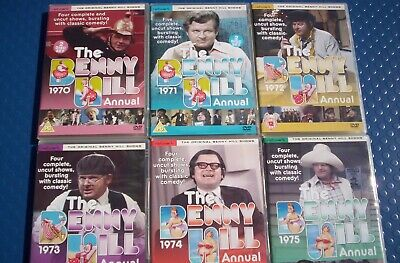 £20 • Buy The Benny Hill Annuals DVD Sets 1970 To 1975 , 25 Complete Uncut Shows