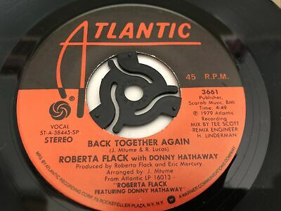 £2.59 • Buy Roberta Flack With Donny Hathaway - Back Together Again 7  Vinyl Single Record
