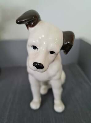 £37.99 • Buy HMV Porcelain Nipper Dog 'His Masters Voice' 6 Inches Lovely