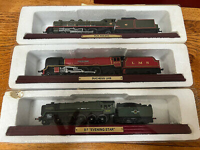 £10 • Buy Atlas Editions LMS Model Trains.Evening Star, PLM Pacific, Duchess Of Sutherland