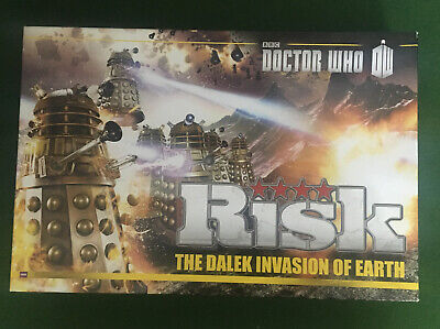 £16 • Buy BBC DOCTOR WHO RISK - THE DALEK INVASION OF EARTH By HASBRO 2009 - Complete
