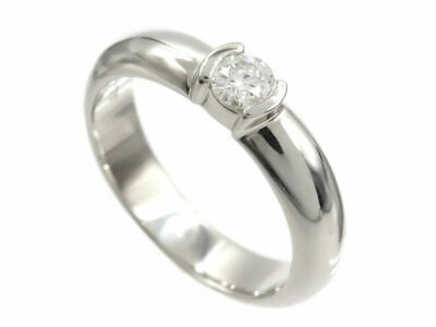 AU1451.06 • Buy Tiffany & Co. Ring Platinum Dots Solitaire 1P Diamond Ring US Size 5-5.5 #071809
