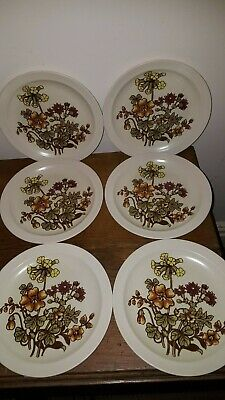 £6.99 • Buy Royal Worcester Palissy Hedgerow Dinner Plates X 6