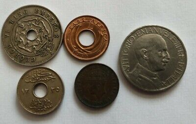 £6 • Buy Collection Of Old Foreign Coins