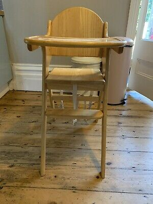 £5 • Buy Wooden High Chair With Cushion