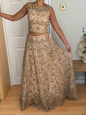£360 • Buy Indian Bridal Lengha From Mongas